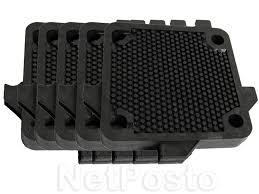 Placa Filtrante para Filtro Prensa - 4 Furos 6034