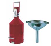 Aferidor de Combustivel + funil para tanque