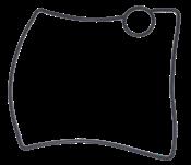 Anel de vedação moldado 3G 5105