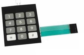 Teclado Membrana 12 teclas 5167