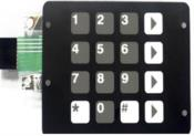 Teclado Membrana Bomba  Global 5168