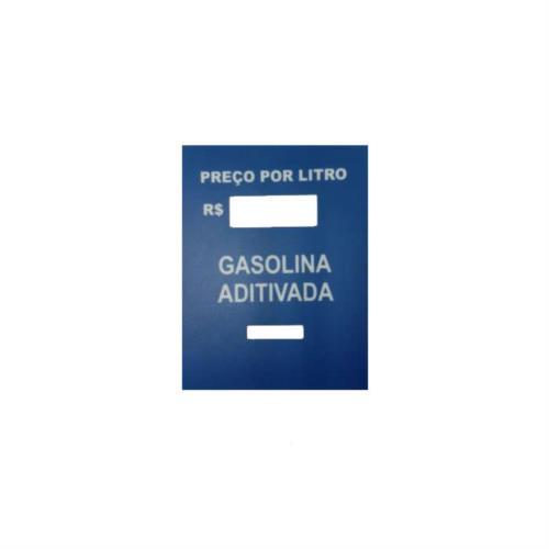 Adesivo Identificador de Combustível para PPL - Gasolina aditivada 5252
