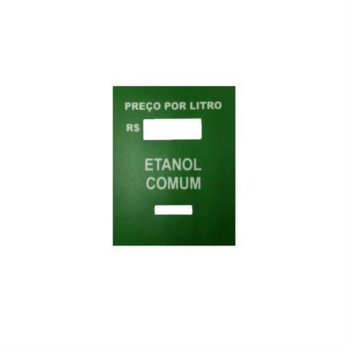 Adesivo Identificador de Combustível para PPL - Etanol 5253