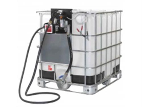 Kit de abastecimento a bateria + reservatorio de 1000 litros semi novo 5590