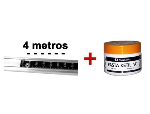 Régua de medição de tanque + Pasta Ketil A 9158