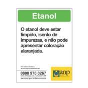 Adesivo Informativo para Etanol 5280