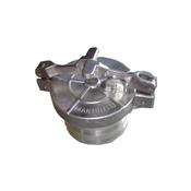 """kit para Descarga Selada de 4"""" em aluminio 7029"""