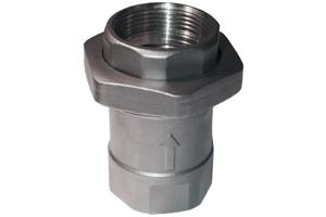 União Check Valvula simples em aluminio 7090