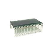 Cristal de LCD litros para bomba Stratema  teclado inox 5326