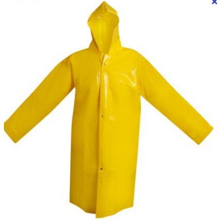 Capa para chuva com capuz em pvc 9146