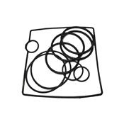 Jogo de Anéis  para bloco e compacta da 3g 5172