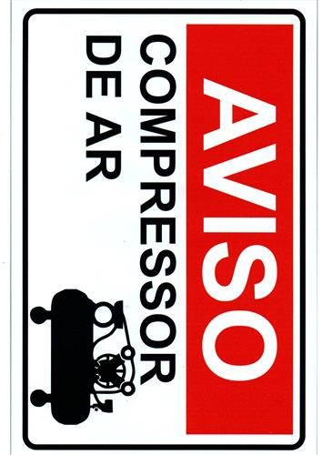 Adesivo  de Compressor de Ar 5263