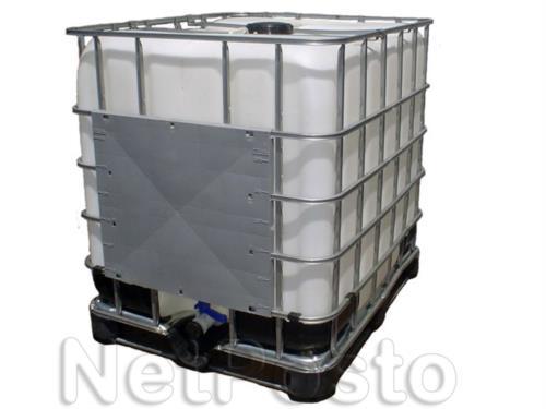 Reservatório em Polietileno e Porta-Palete em Aço (IBC) - Semi Novo 8003